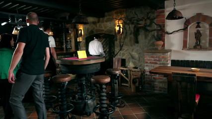 HD1080p: Entering wine cellar
