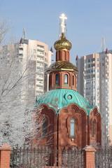 Часовня православного Благовещенского собора