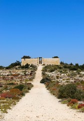 Malta, Gozo, Comino, Way to old cemetery