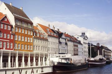 Denmark, Copenhagen, Nyhavn, Picture of Nyhavn