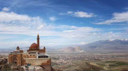 Turkey, View of Ishak Pasa Palace