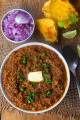 Pav bhaji- Indian Sloppy joes