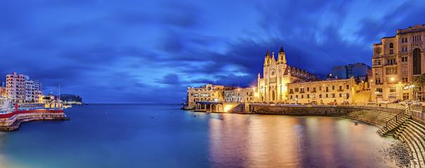 Our Lady of Mount Carmel in Balluta bay, Malta