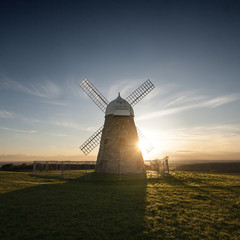 United Kingdom, West Sussex, Halnaker Windmill