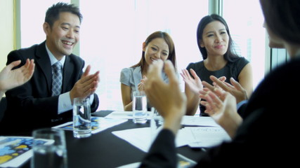 Team Asian Chinese Financial Consultants Conference Room