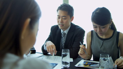 Asian Chinese Business Focus Group Future Planning