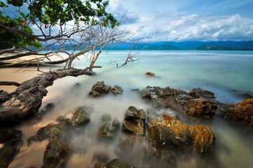 Indonesia, West Sumatra, Pesisir Selatan, Semangki Island