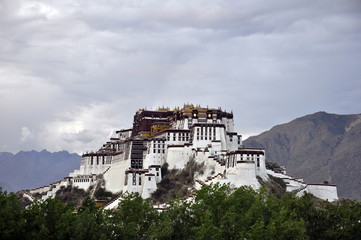 China, Tibet, Lhasa, Potala Place