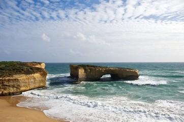 Australia, Rock formation at seashore