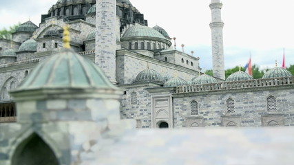 Passing by Suleiman Mosque in Istanbul, Turkey