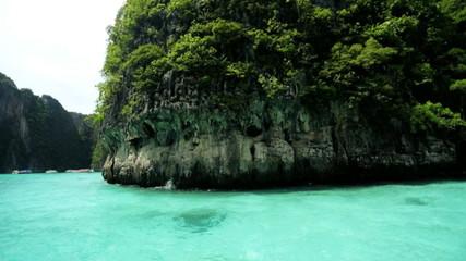 Natures sheer limestone karsts, Phi Phi Island, Thailand