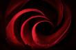 Red Rose Petals Macro - Abstract - 77428159