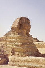 Egypt, Giza, Picture of Sphinx