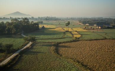 Mandalay, Myanmar, Colourful Plantations Around Mandalay