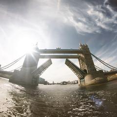 UK, London, View of Tower Bridge