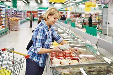 Women in supermarket