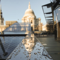 United Kingdom, London, View of St Pauls Cathedral