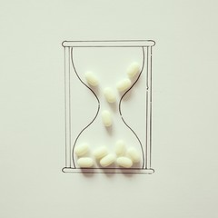 Conceptual hourglass