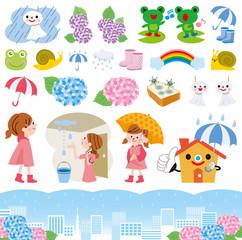 梅雨 アイコン