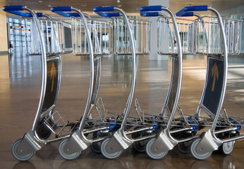Airport trolleys