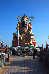 The Chinese revered gods