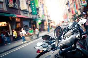 Taiwan, Taipei, Street view