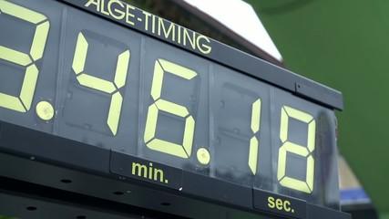 Digital timing clock