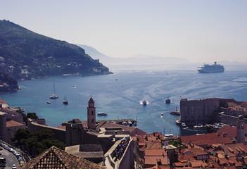 Croatia, Picture of coastal town