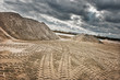 Leinwanddruck Bild - Sandgrube2