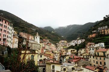 Italy, Liguria, Cinque Terre, View of townscape