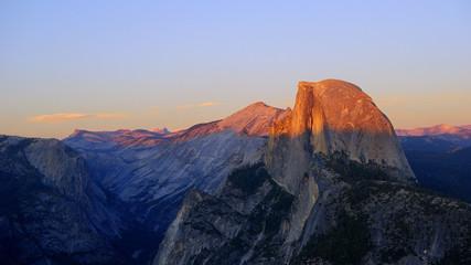 USA, California, Half dome of Yosemite national park