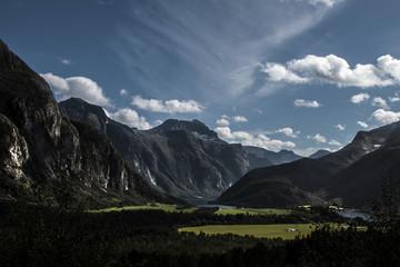 Sweden, Lofoten, Mountains