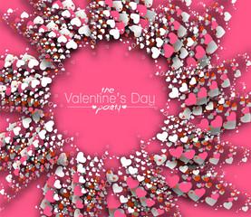 Valentine's Day Heart Design