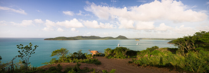 Antigua and Barbuda, Antigua, Five Islands Harbor near Hermitage Bay