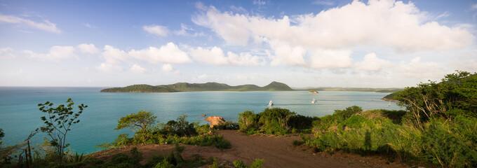 Antigua and Barbuda, Antigua, Five Islands Harbor near Hermitage Bay