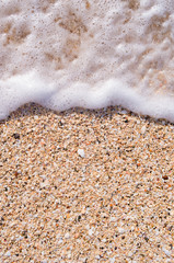 Antigua and Barbuda, Antigua, Beach Foam