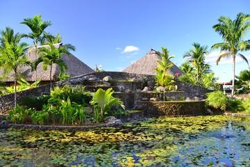 TAHITI : JARDIN DE PAOFAI
