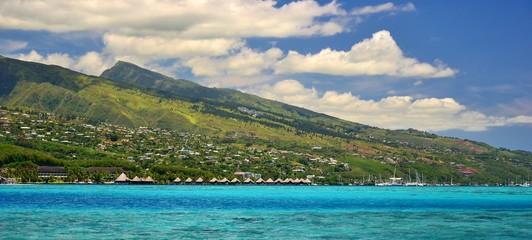 POLYNESIE : ILE DE TAHITI