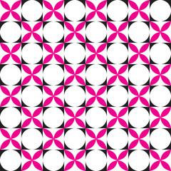 Seamless  Intersecting Circle Pattern