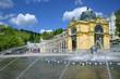 Singing fountain, spa Marianske lazne, Czech republic - 77442711