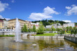 fountain, spa Marianske lazne, Czech republic - 77442727
