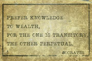 prefer knowledge print