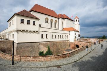 Špilberk Castle in Brno, Czech Republic