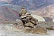 Stone pyramid at Death Valley National Park