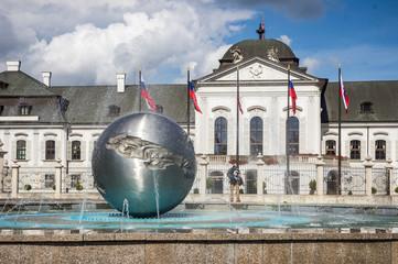 Presidential Palace in Bratislava, Slovakia