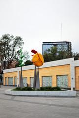 Modern building in Arkadia