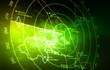 Leinwanddruck Bild - Radar