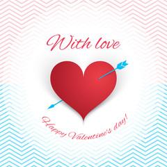 I love you, hearts, concept, happy Valentine's Day. Vector