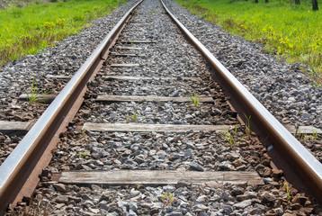 Rail pour train à vapeur