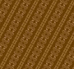 Brown Color Modern Simple Diagonal Line Pattern. Original Patter